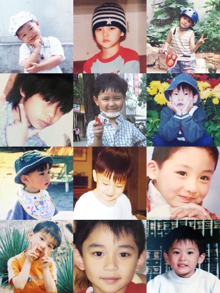 idol baby photos nct
