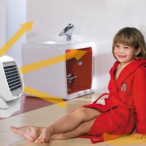 Mini racitor de aer portabil - 2 in 1 Air Cooler