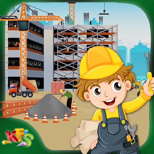 Skyscraper Construction Site Builder (game)
