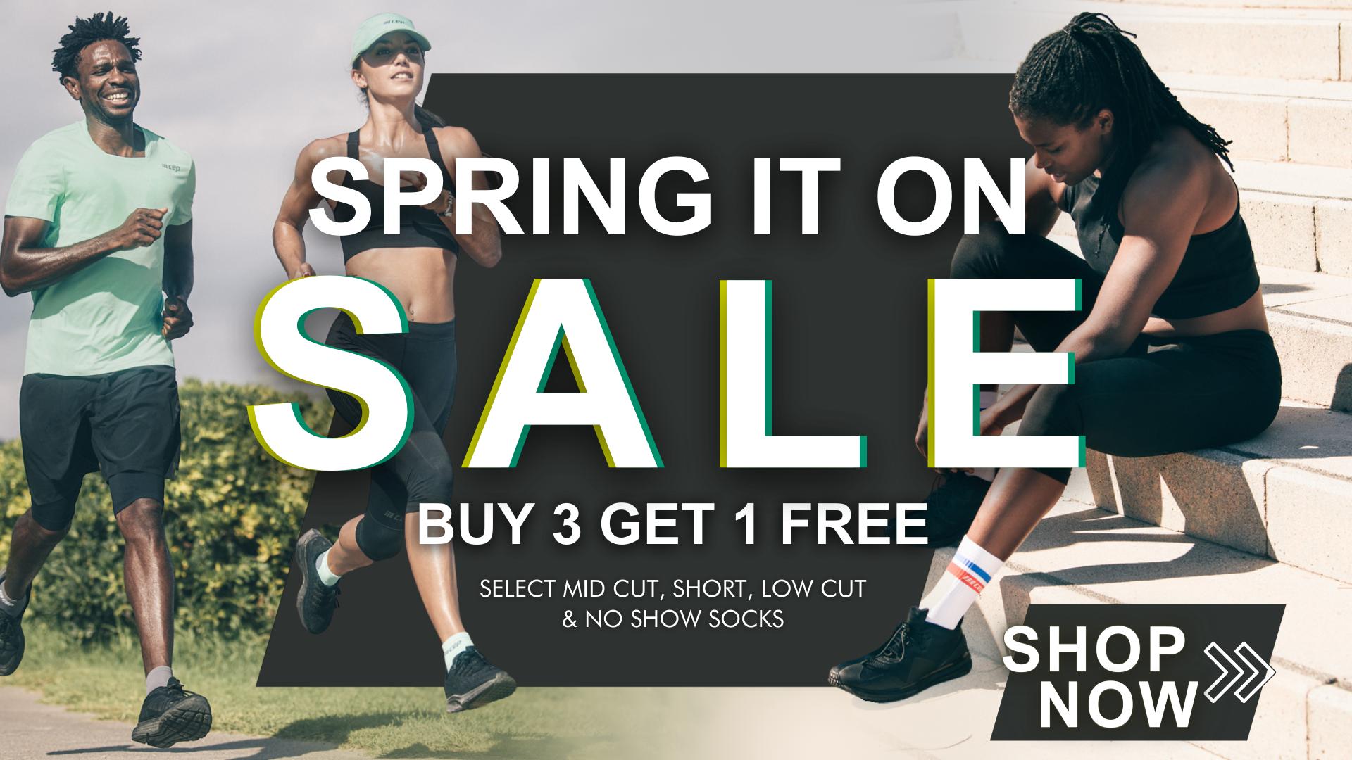 Buy 3 Get 1 Free on select Compression Socks Sale