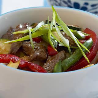 Beef and Vegetable Stir-Fry.