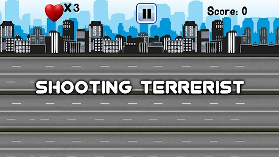 Shooting Terrorist - The War on terror - náhled