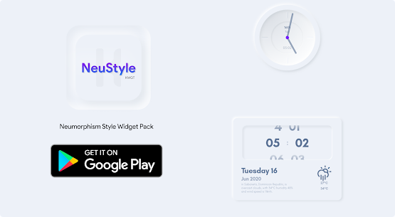 NeuStyle KWGT 1.1 Paid Latest APK Free Download 2