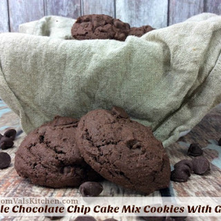 Chocolate Cake Mix Cookies With Powdered Sugar Recipes