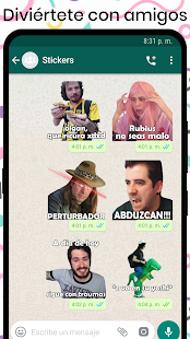 StickersTube - Stickers de Youtubers 📺 Screenshot