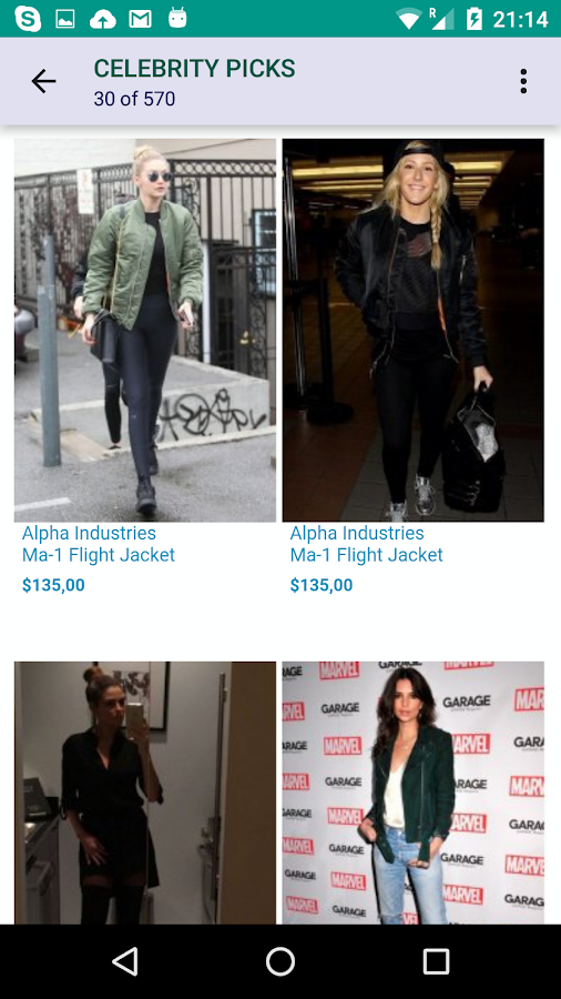 Singer22 Celebrities Fashion- screenshot