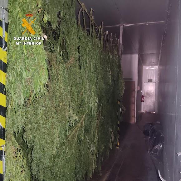 La Guardia Civil ha difundido varias imágenes de la operación.