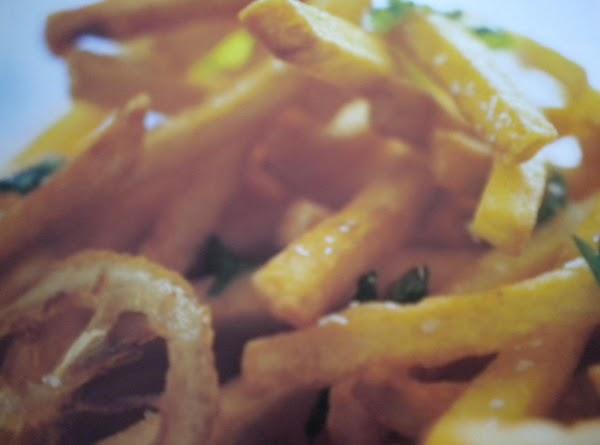 Lemony Oven Fries Recipe