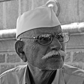 by Indroneel Mukerji - People Portraits of Men ( senior citizen )