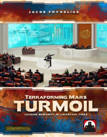 Terraforming Mars: Turmoil exp