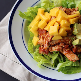 Enchilada Chicken Mango Salad.