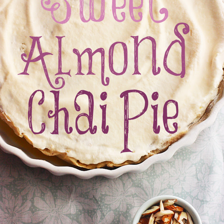 Sweet Almond Chai Pie