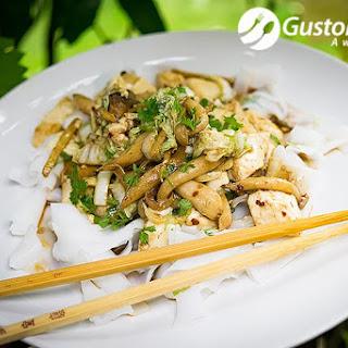 Tofu and Mushrooms Stir Fry, a Great Vegetarian Healthy Dish  Recipe