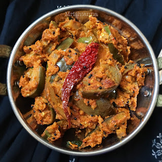 Brinjal Masala Curry.