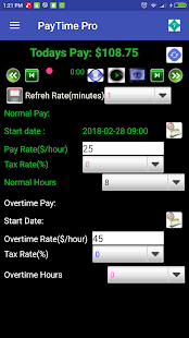 PayTime Free, cheer you up when your working! 2
