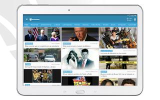 Screenshot of Univision
