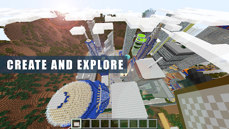 New Craft York City Exploration Build Sandbox Game APK screenshot thumbnail 4