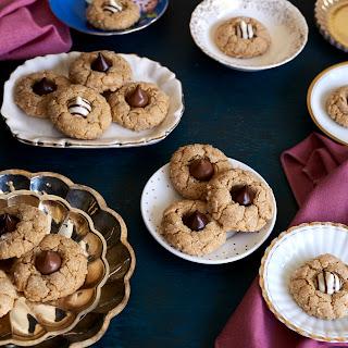 Spiced Peanut Butter Kiss Cookies.