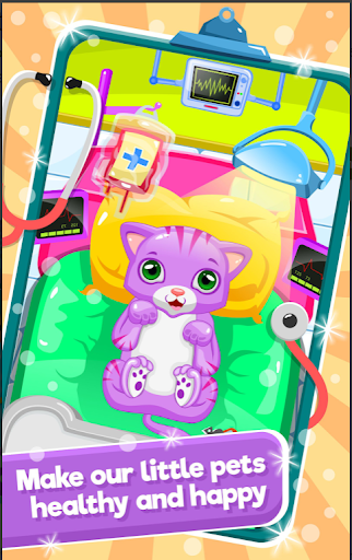 Little Cat Doctor Pet Vet Game modavailable screenshots 1