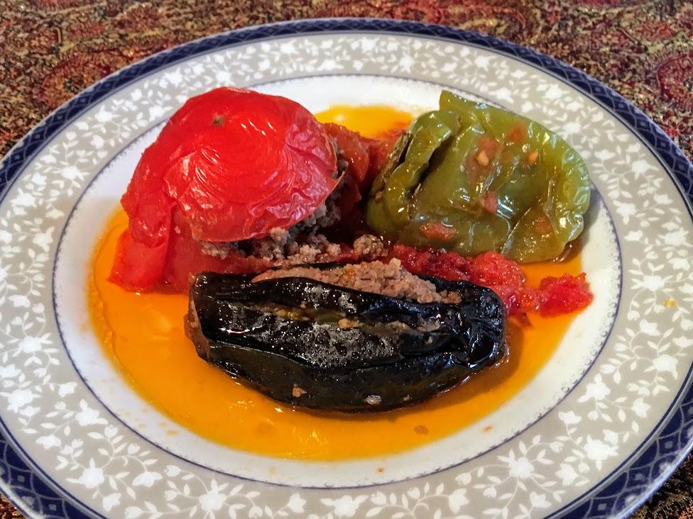 Azerbejdżan, kuchnia, Dolma