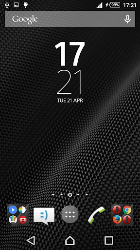 Metal Gray Xperien Theme