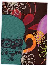 Photo: Wenchkin's Mail Art 366 - Day 230 - Card 230a