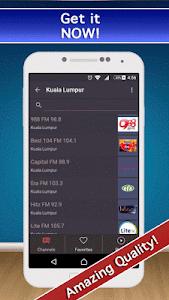 📻 Malasyan Radio FM & AM Live screenshot 0