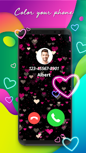 Color Call – Color Phone Flash & Call Screen Theme 2