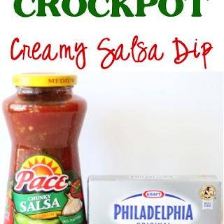 Crockpot Creamy Salsa Dip Recipe!