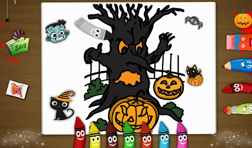 Halloween Doodle Coloring v1.0.0
