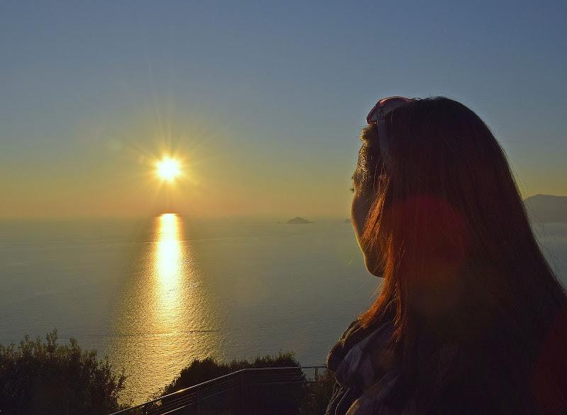 Riratto al tramonto di Luciano Fontebasso
