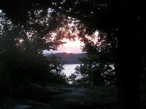 Photo: Watching the sun rise