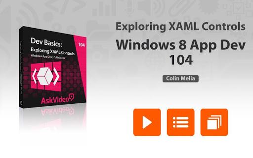 XAML Controls For Windows 8