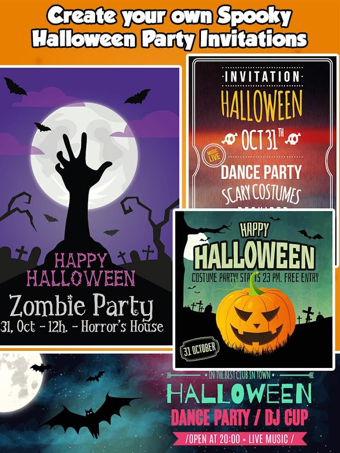 Halloween Party Invitations – Android Apps on Google Play