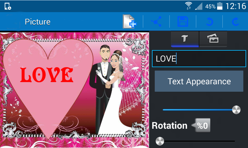 android Add text to photo – pro Screenshot 6