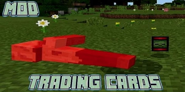 Trading Cards Add-on MCPE - náhled