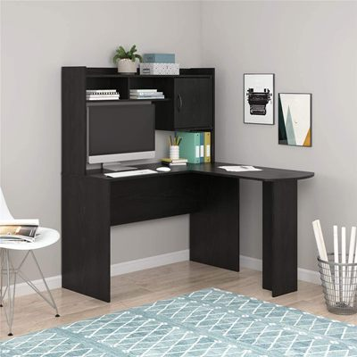 Mainstays' L-shaped Desk with Hutch