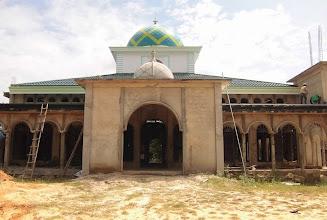 Photo: Kubah Masjid Baiturrahman Angsana Tanah Bumbu Kalsel