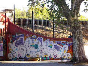 Photo: There's some pretty nice graffiti in the Palermo district