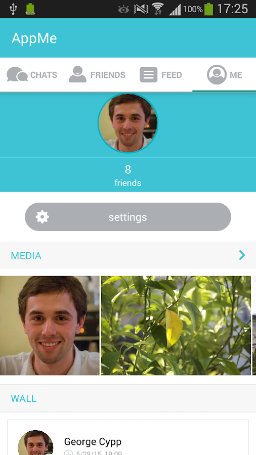 AppMe Chat Messenger- screenshot