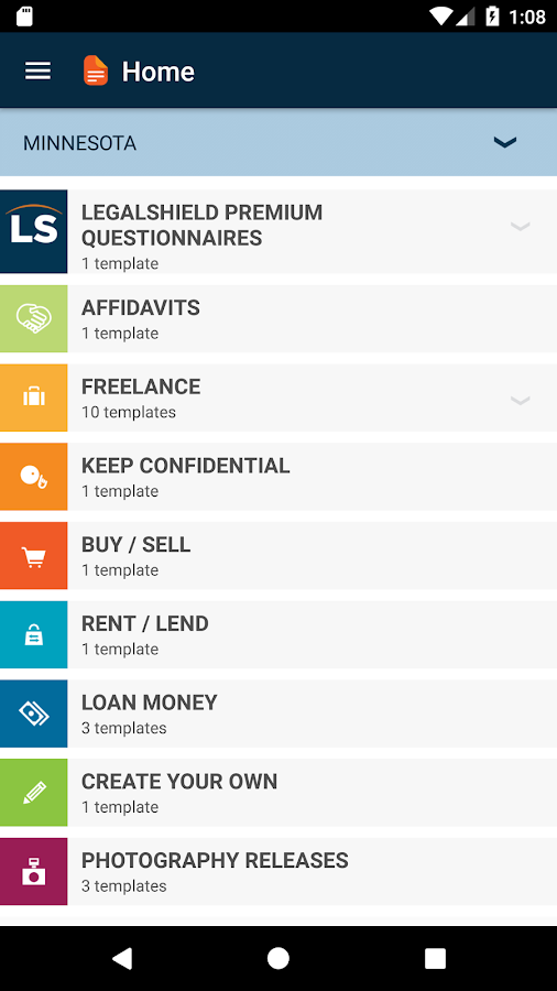 Forms by LegalShield- screenshot