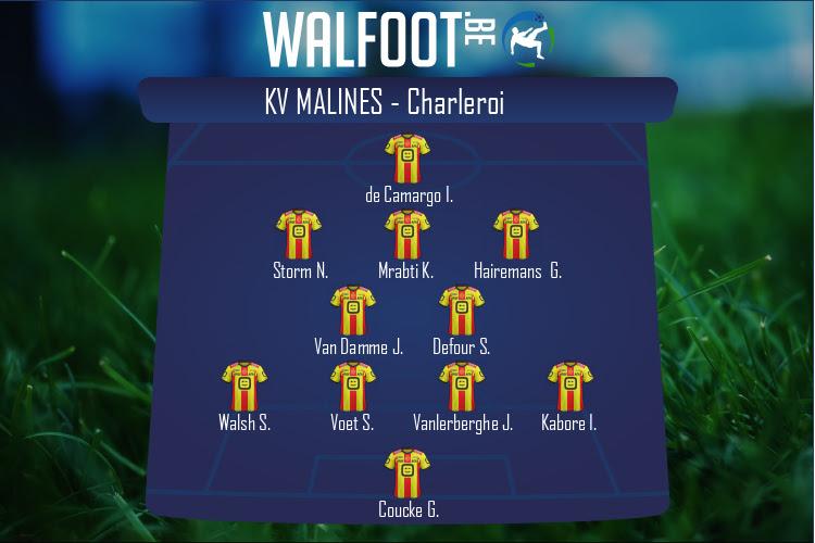 KV Malines (KV Malines - Charleroi)
