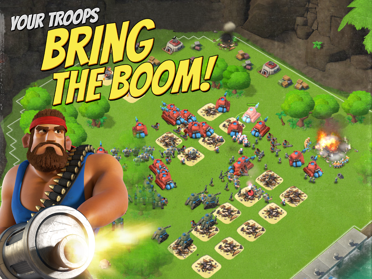 Boom Beach- screenshot