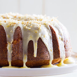 Coconut Orange Pound Cake