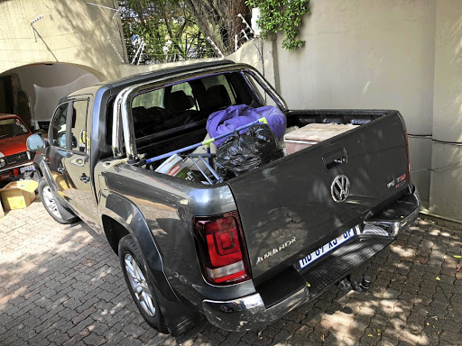 The Amarok V6 TDI has been involved in a household decluttering exercise. Picture: MARK SMYTH