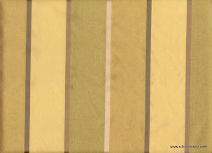 Photo: Lucknow 18 - Roullette Stripes - Color Silver Green