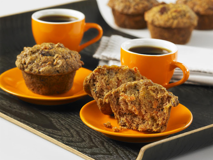 Carrot and Apple Muffins Recipe