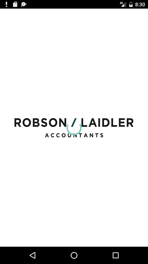 Robson Laidler Accountants- screenshot