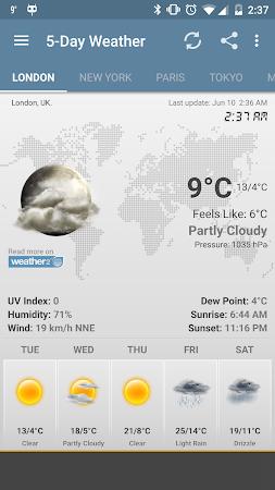 Weather & Clock Widget Android 5.0.1.2 screenshot 958