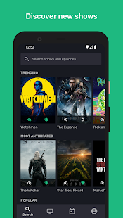 Series Addict - TV Show Tracker & Episode Notifier Screenshot